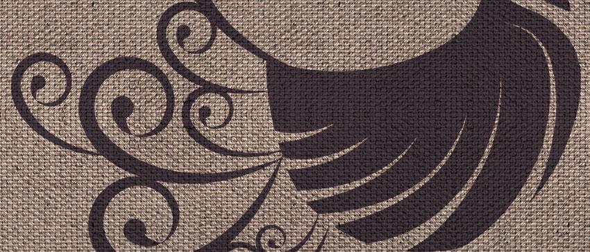 dettaglio carta da parati pavoncelle