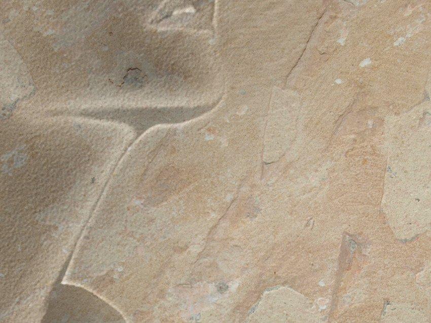 Dettaglio della carta da parati con effetto pietra