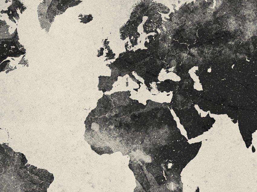 dettaglio carta da parati continenti