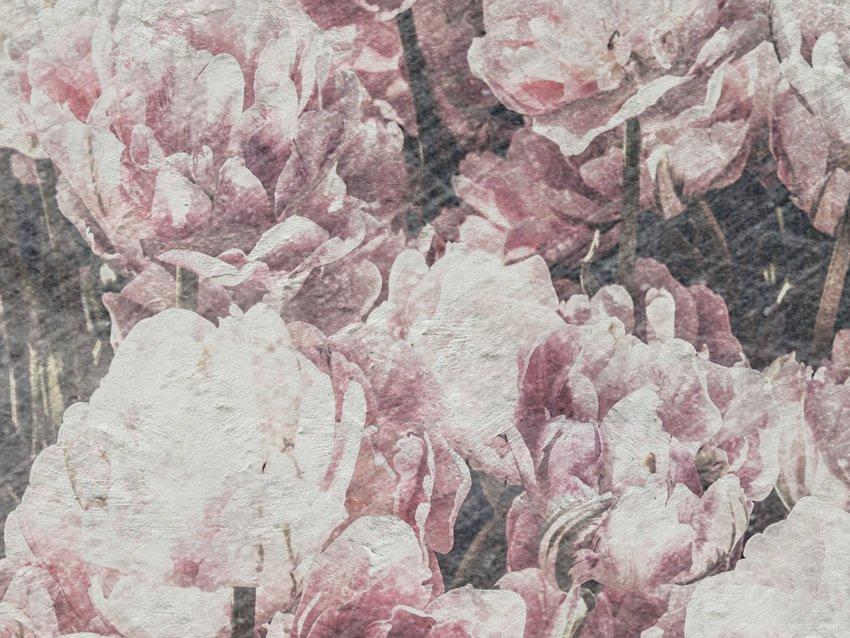 dettaglio carta da parati distesa di fiori