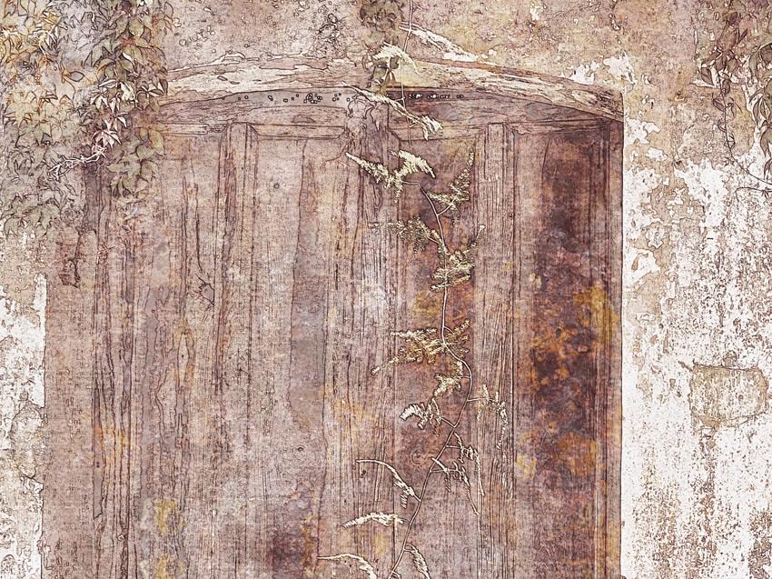 dettaglio carta da parati muro vintage