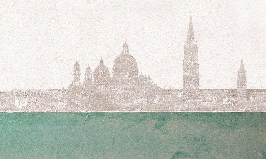 dettaglio carta da parati venezia