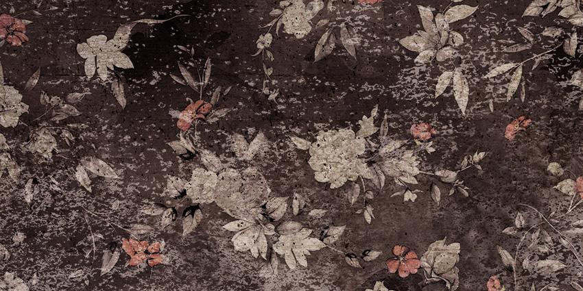 dettaglio carta da parati piccoli fiori