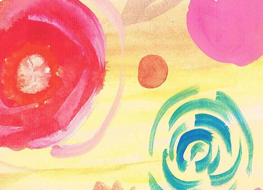 dettaglio carta da parati colore