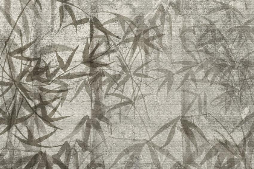 dettaglio carta da parati bambù