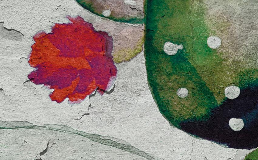 dettaglio carta da parati cactus design