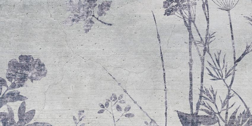 dettaglio carta da parati erba di campo
