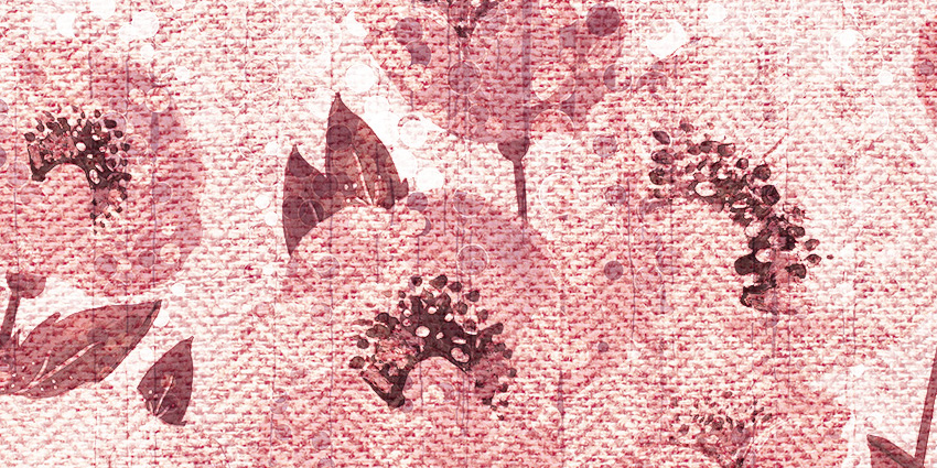 dettaglio carta da parati fiori di papiro