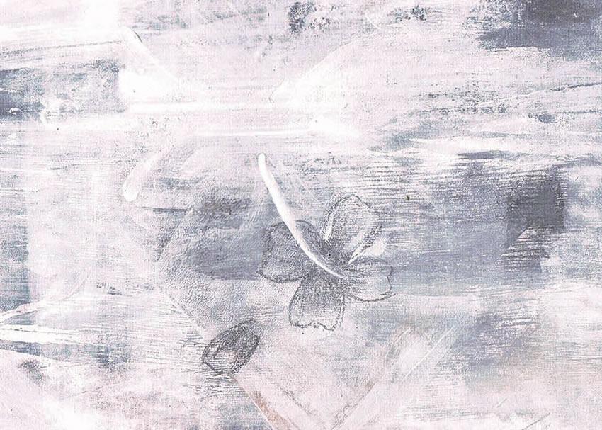 dettaglio carta da parati fiori stilizzati