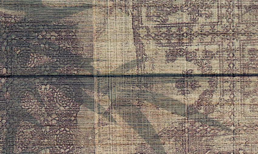 dettaglio carta da parati foresta di bambu