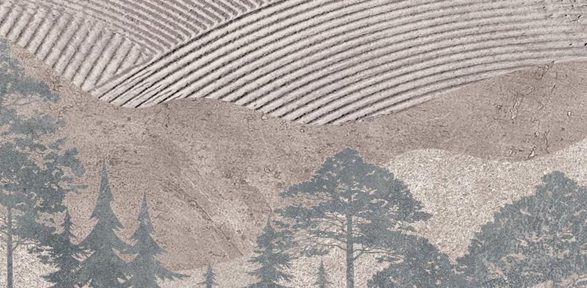 dettaglio carta da parati nel bosco