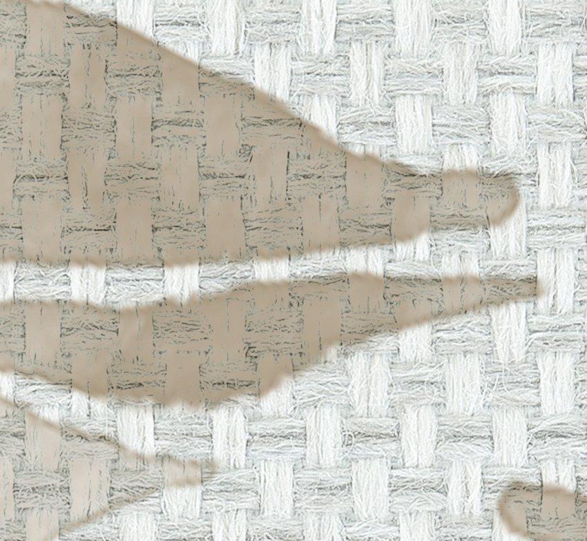 dettaglio carta da parati tessuto foglie