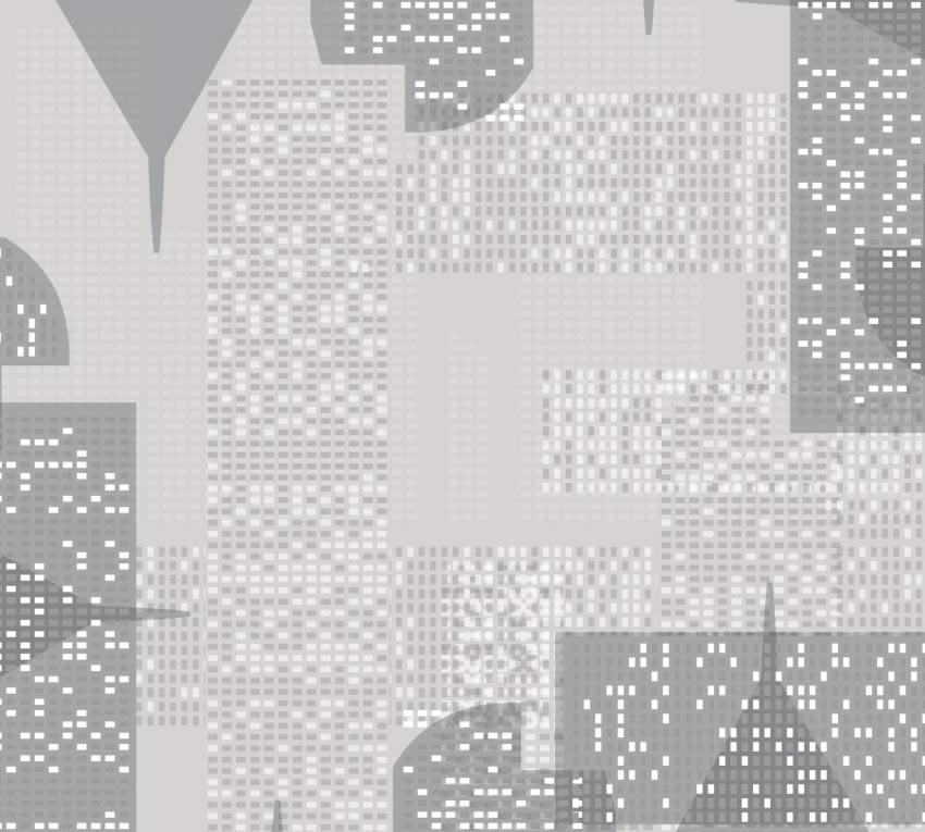 Dettaglio della carta da parati sui grattacieli