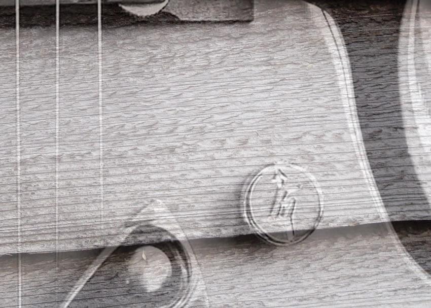 dettaglio carta da parati gretsch