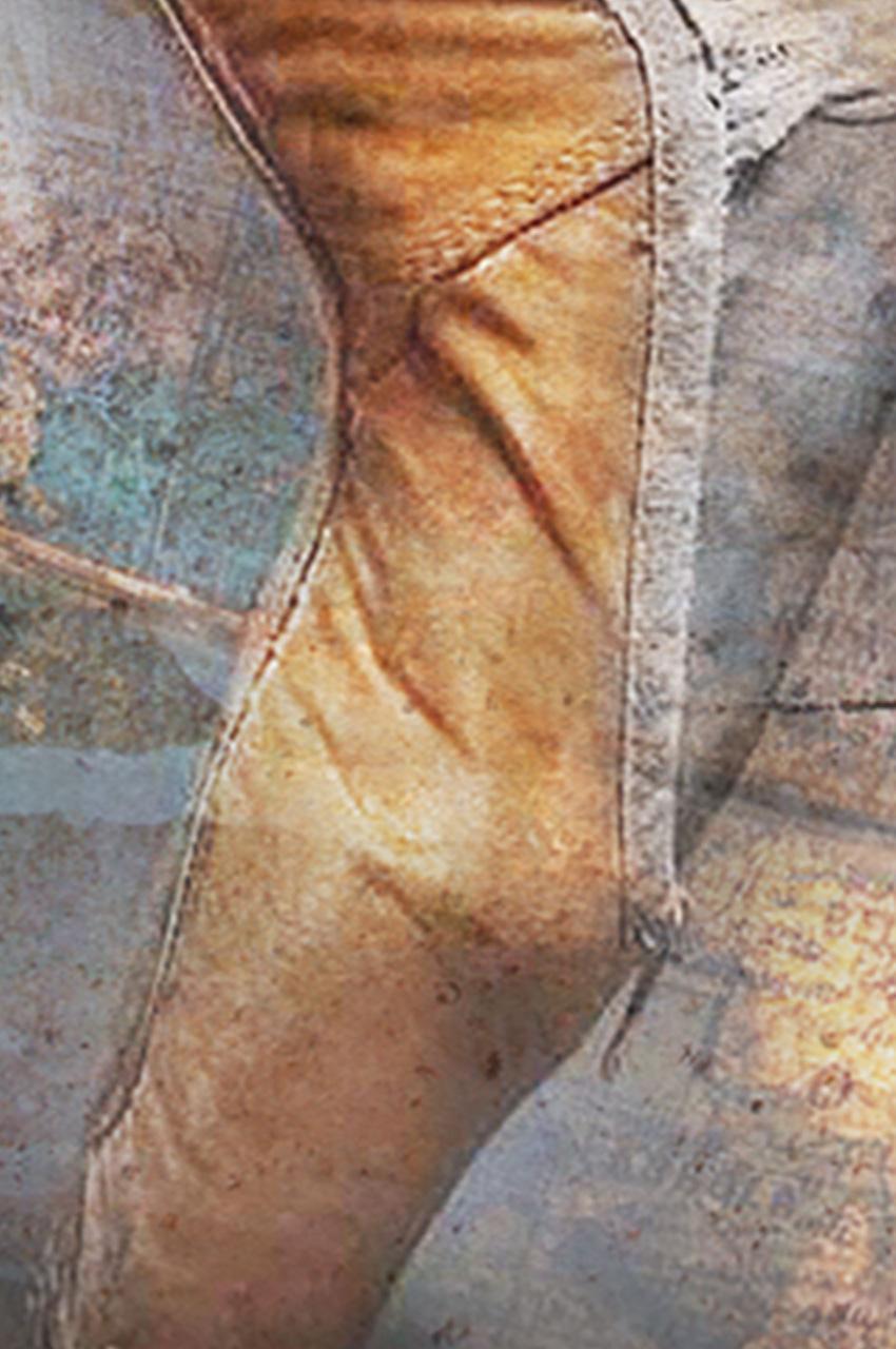 dettaglio carta da parati in punta di piedi