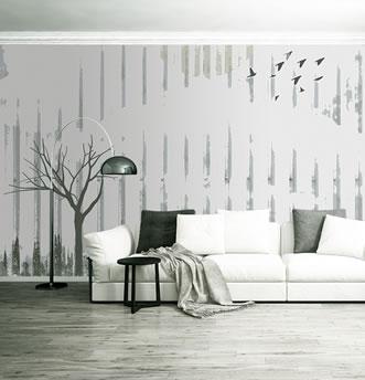 rivestimento per parete a righe