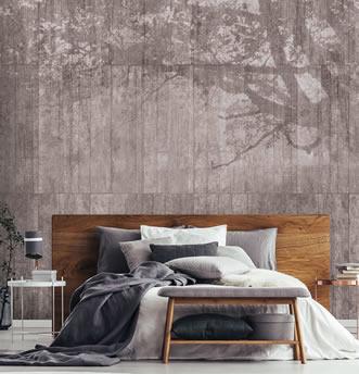 carta da parati effetto cemento tappezzeria con aspetto muro On carta da parati effetto muro