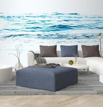 carta da parati acqua di mare, immagine della natura molto rilassante