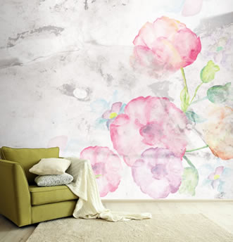 Creazione con motivi floreali