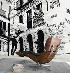 Aetas Carta Da Parati.Carta Da Parati Design Italiano Di Cartadaparatiartistica Com