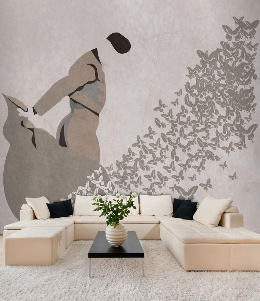 Parete di sogni carta da parati vintage for Carta da parete