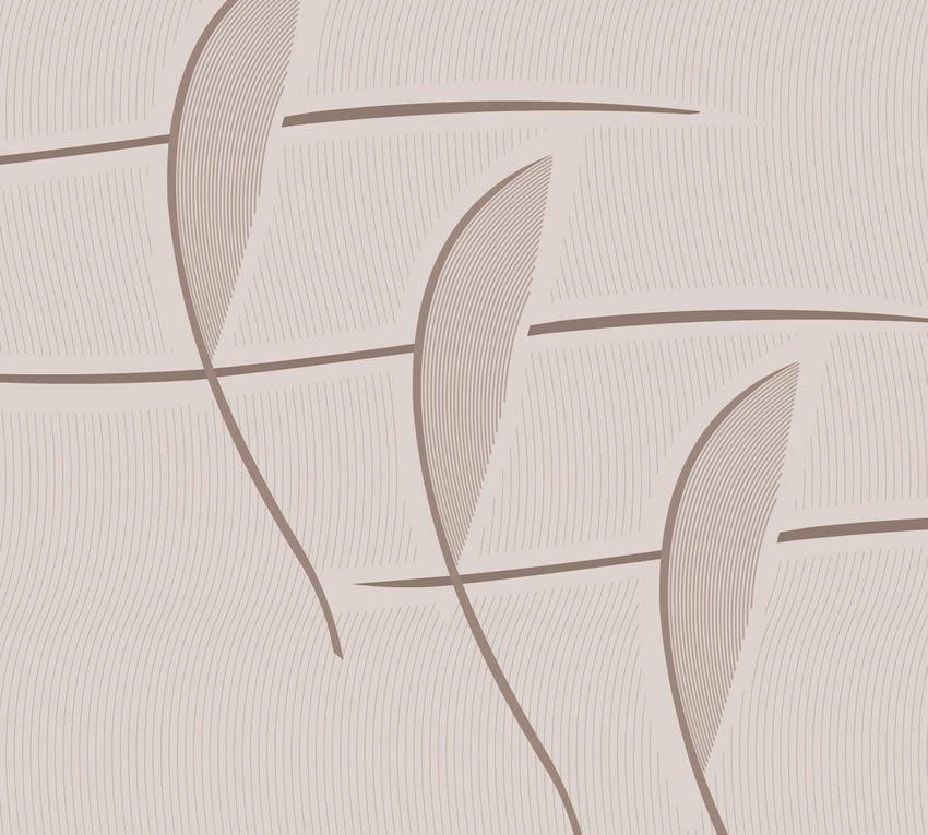 Carta da parati in tonalità seppia