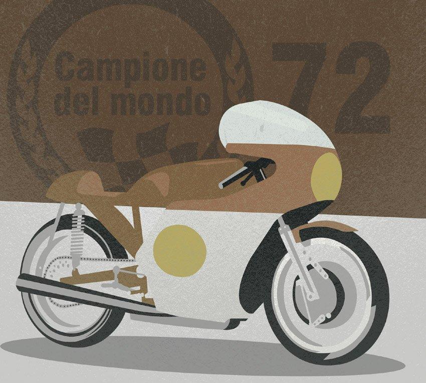 Terza tipologia di colore della grafica moto