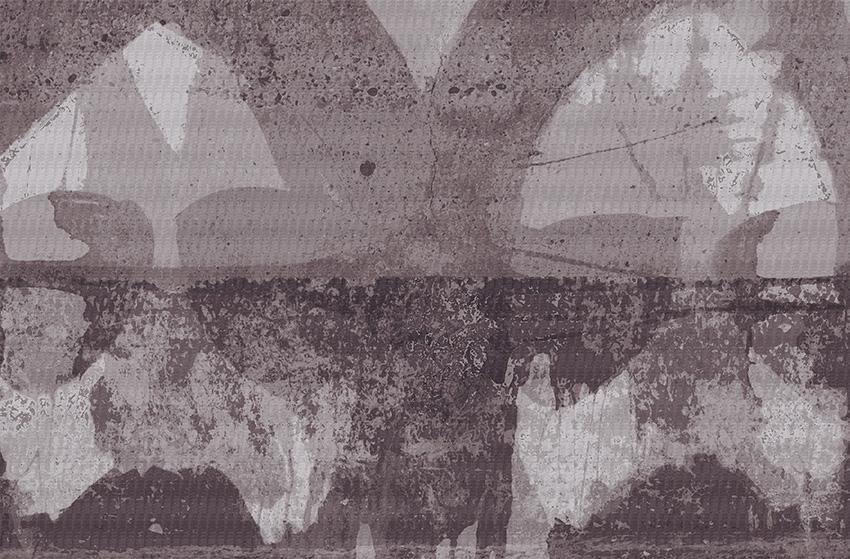 Colorazione 3 della carta da parati Piombo
