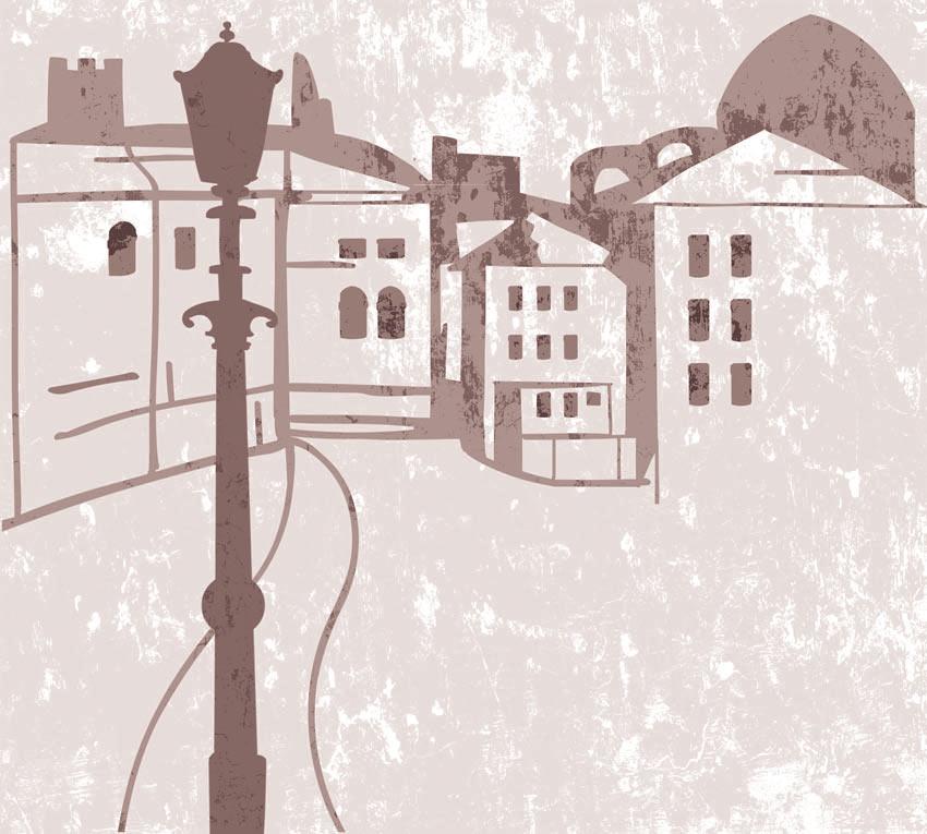 Immagine carta da parati. Terza tipologia di colore
