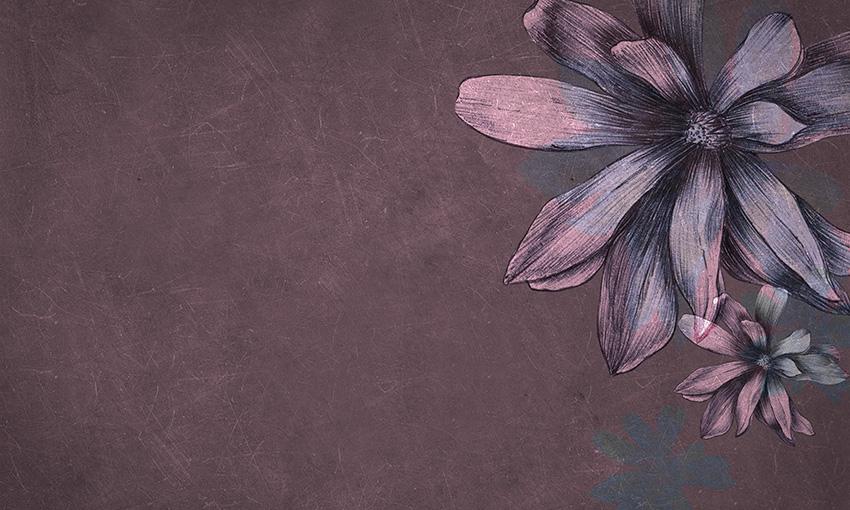 carta da parati magnolie colore 4