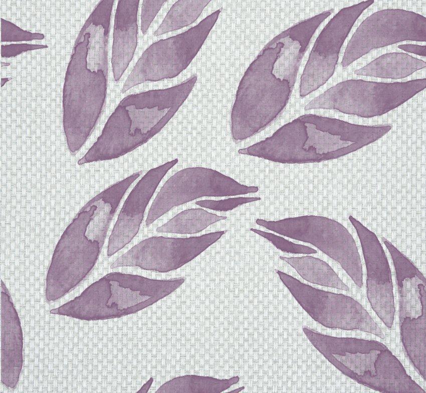 muro tessuto foglie