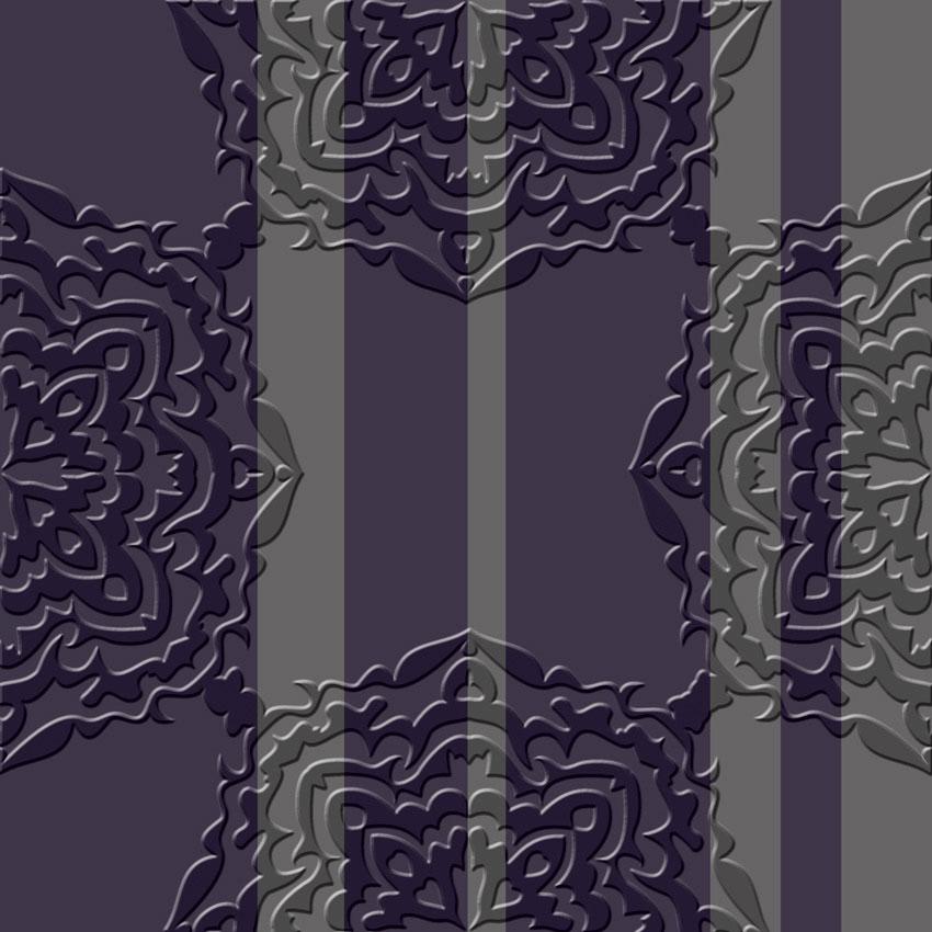 Righe classica 3d carta da parati a righe for Carta da parati classica