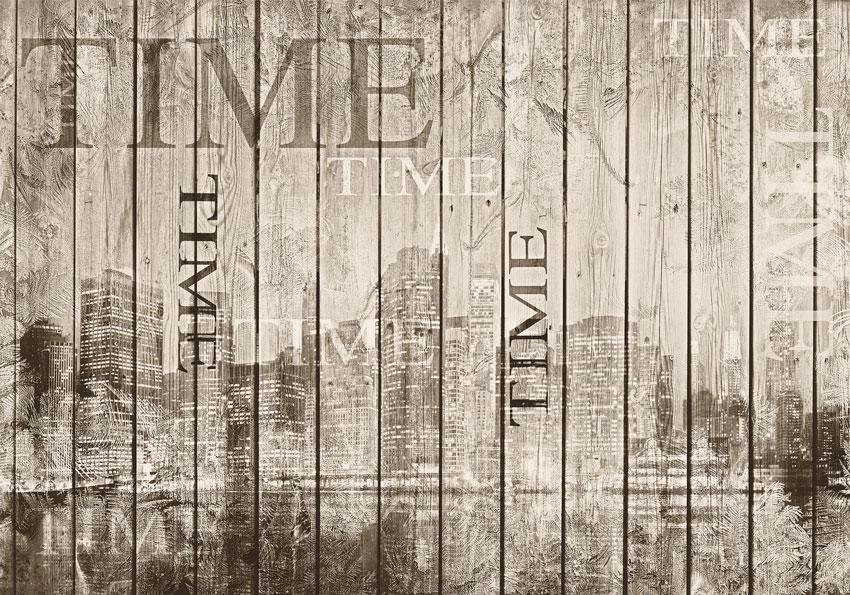 Citt di legno grezzo carta da parati effetto legno for Carta da parati adesiva effetto mattone