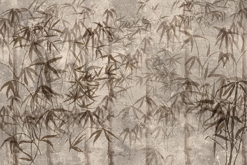 Colorazione 2 della carta da parati Bambù