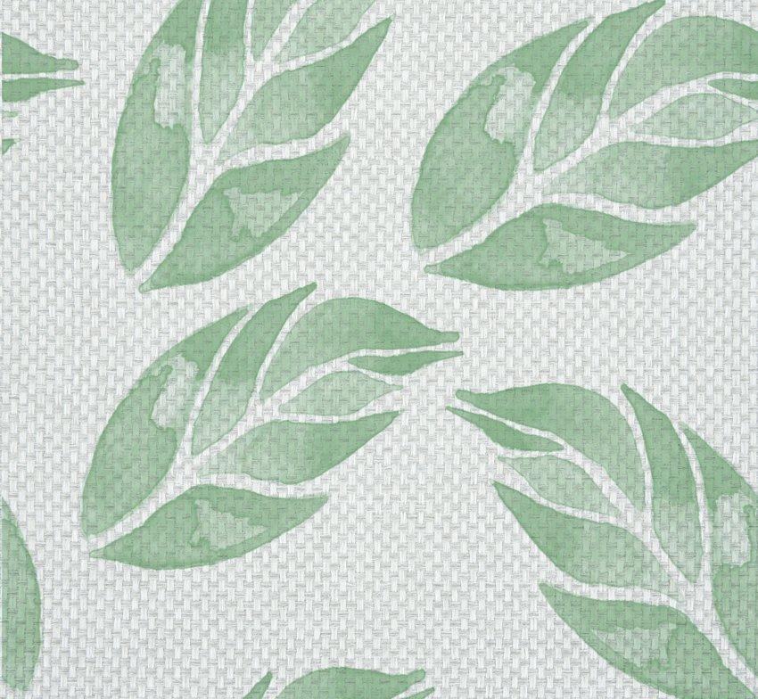 tappezzeria tessuto foglie