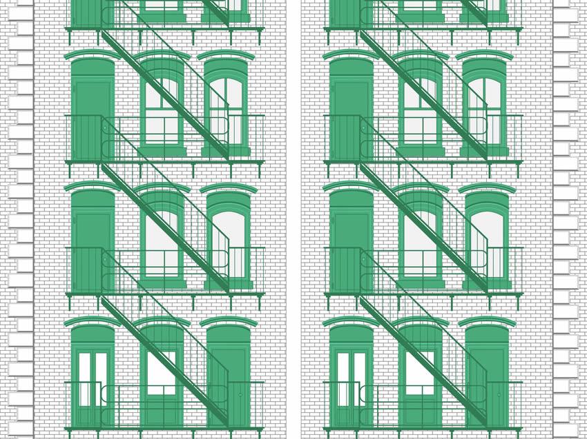 Seconda variante di colore in tonalità verde