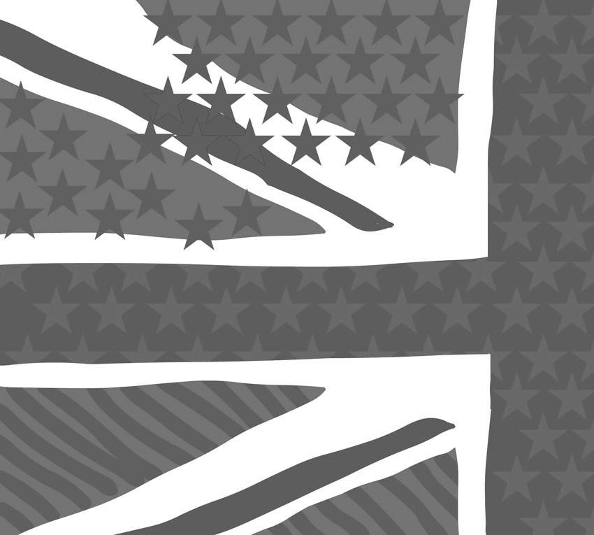Carta da parati stampata in tonalità di grigio