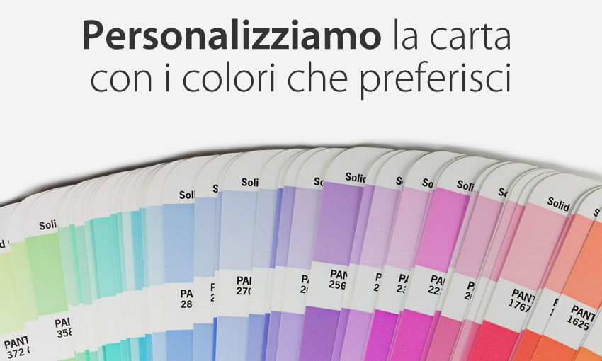 Personalizza i colori di questa carta da parati