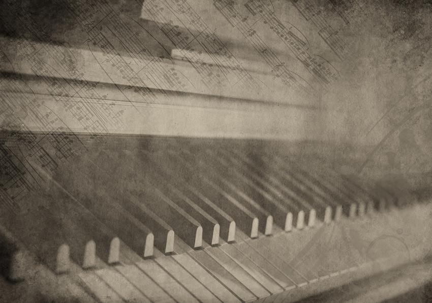 tasti pianoforte carta da parati