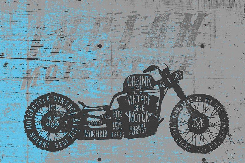 Immagine della carta da parati proposta nella prima variante di colore