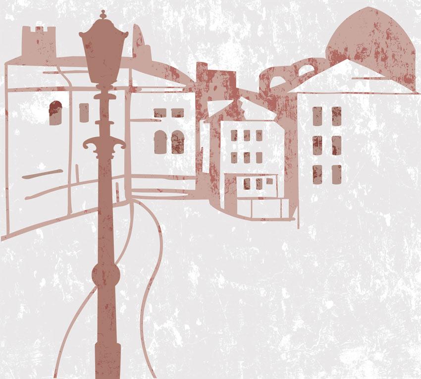 Immagine carta da parati. Prima tipologia di colore
