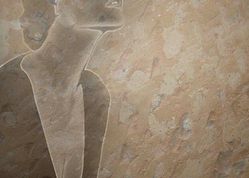 Immagine della grafica effetto pietra