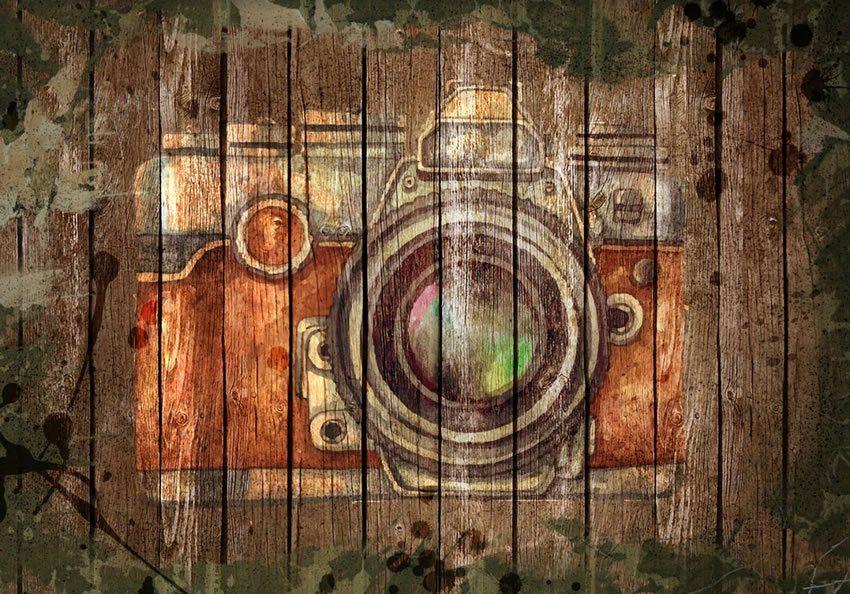 macchina fotografica carta da parati