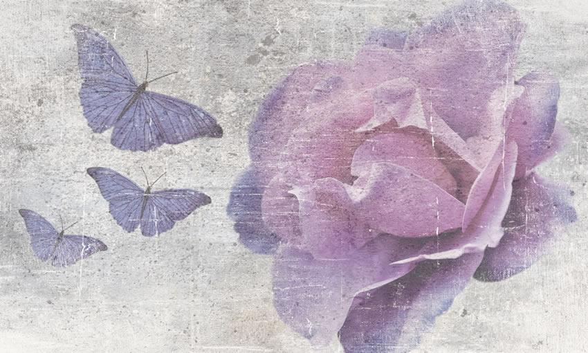 farfalle carta da parati