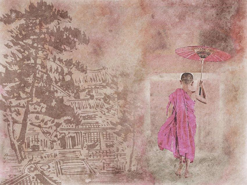monaco bambino carta da parati