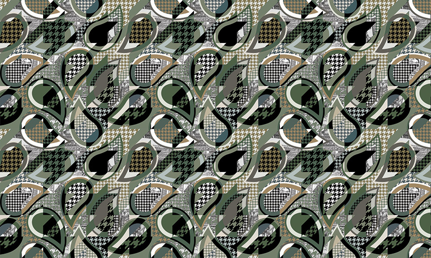 tweed texture carta da parati