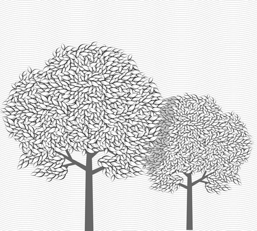 Grafica della carta da parati senza ambiente