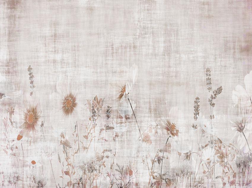 fiori di campo carta da parati