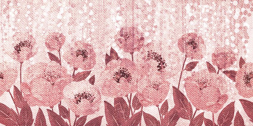 fiori di papiro carta da parati