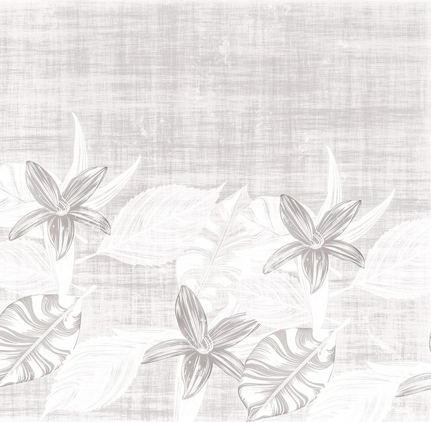 Grafica con prima variante di colore per fiori e foglie